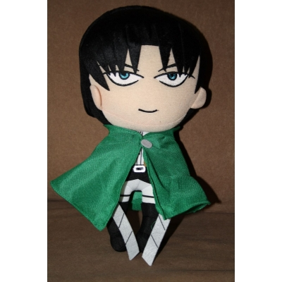 Attack on titan knuffel Levi rivaille +/- 30cm