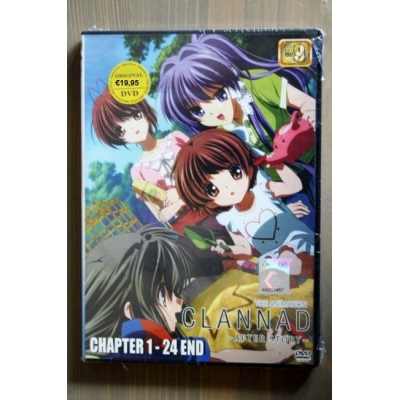 DVD Clannad After Story Ep.1-24 end