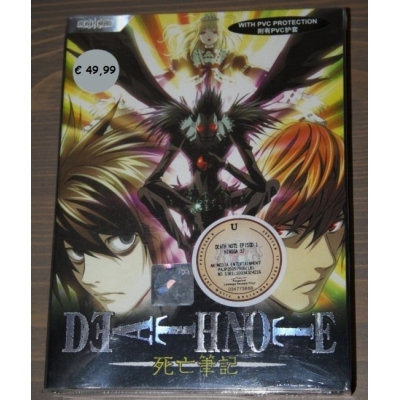 DVD Death note eps 1-37 + special