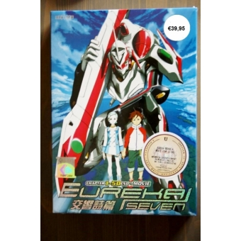 DVD Eureka Seven Ep.1-50 end + Movie
