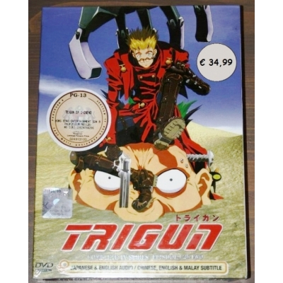 DVD Trigun episodes 1-26