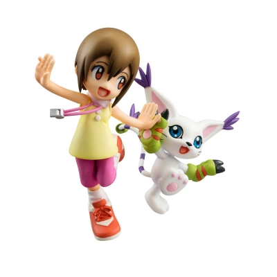 Officiële Digimon Adventure G.E.M. Series PVC figure Kari Kamiya & Gatomon 11 cm