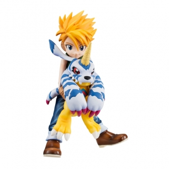 Officiële Digimon Adventure G.E.M. Series PVC figure Matt Ishida & Gabumon 11 cm