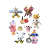 Officiële Digimon Adventure Digicolle! Series Trading Figure 5 cm Data 2