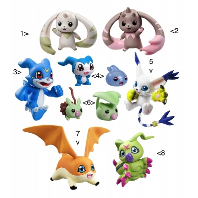 Officiële Digimon Adventure Digicolle! Series Trading Figure 5 cm Data 3
