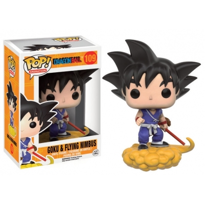 Officiële Dragonball Z Funko POP! Vinyl Figure Goku and Flying Nimbus 9 cm