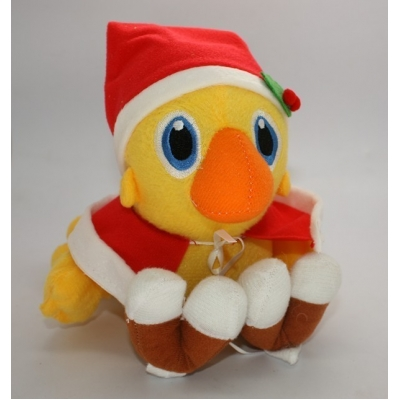 Final fantasy knuffel Chocobo Santa Claus  +/- 16cm