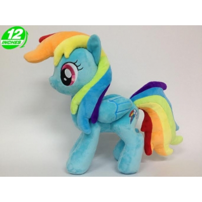 My little Pony knuffel Rainbow dash +/- 32cm