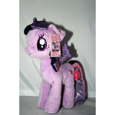 My little Pony knuffel Twilight sparkle  +/- 27cm famosa