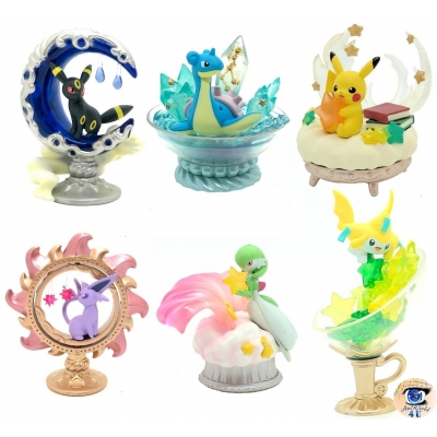Officiële Pokemon figures re-ment Starrium collection 1