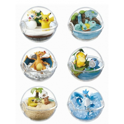 Officiële Pokemon figures re-ment terrarium collection 2