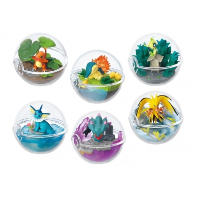 Officiële Pokemon figures re-ment terrarium collection 3