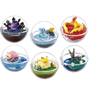 Officiële Pokemon figures re-ment terrarium collection 4