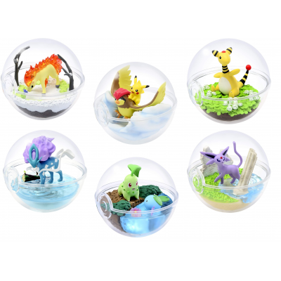 Officiële Pokemon figures re-ment terrarium collection 5