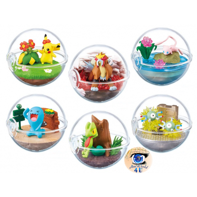 Officiële Pokemon figures re-ment terrarium collection 6