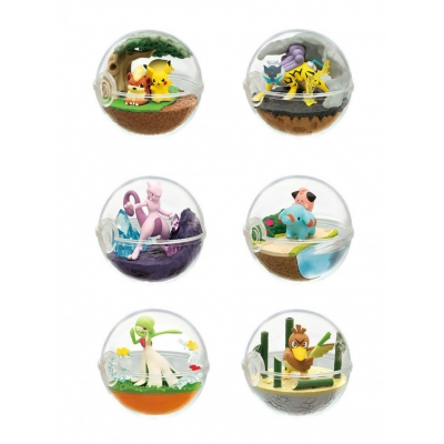 Officiële Pokemon figures re-ment terrarium collection 7