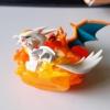 Pokemon TCG Reshiram & Charizard-GX Figure +/-6cm