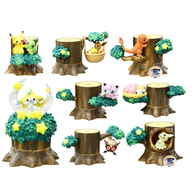 Officiële Pokemon figures re-ment Forest 2 Night of Shooting Stars