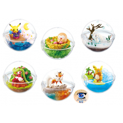 Officiële Pokemon figures re-ment terrarium collection EX Alola Region 2
