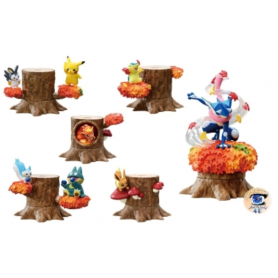 Officiële Pokemon figures re-ment Forest 5 Twilight Afternoon