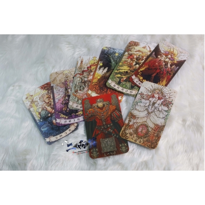 Final Fantasy XIV Astrologian card set van 8