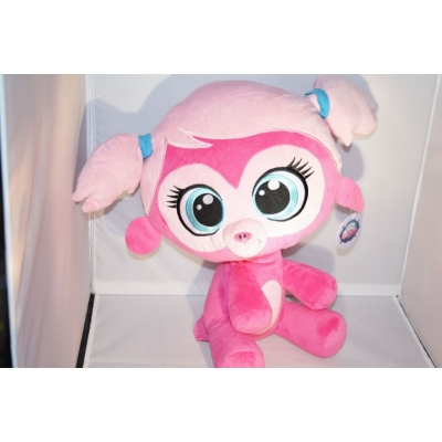 my littlest petshop knuffel monkey minka mark +/- 41cm