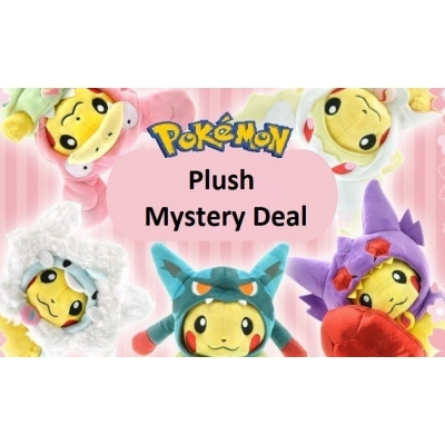 FAN MADE Pokemon knuffel Mystery deal 5 knuffels!