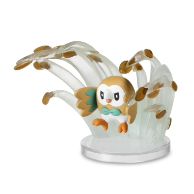 Pokemon center Gallery figure Rowlet Leafage 8,5cm