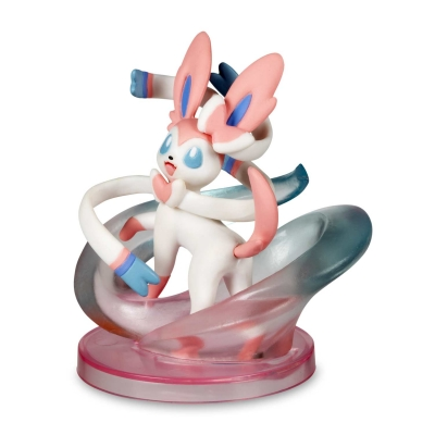 Pokemon center Gallery figure Sylveon Fairy wind 6cm