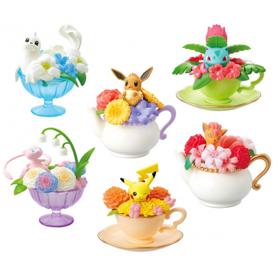 Officiële Pokemon figures re-ment floral cup collection 1
