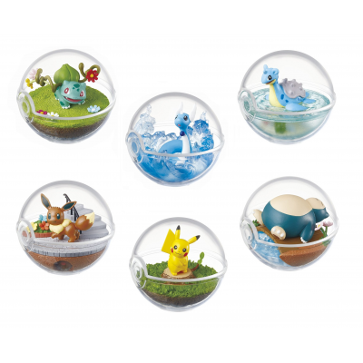 Officiële Pokemon figures re-ment terrarium collection 1