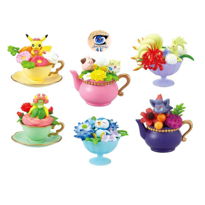Officiële Pokemon figures re-ment floral cup collection 2