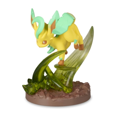 Pokemon center Gallery figure Leafeon Leaf blade 7cm