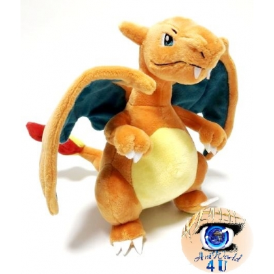 officiele Pokemon knuffel Charizard +/- 19cm Sanei