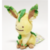 Officiële Pokemon center knuffel ditto transform Leafeon +/- 18cm