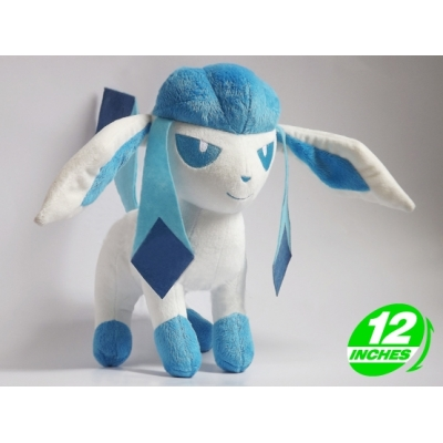 Fan Made knuffel Shiny Glaceon +/- 40cm