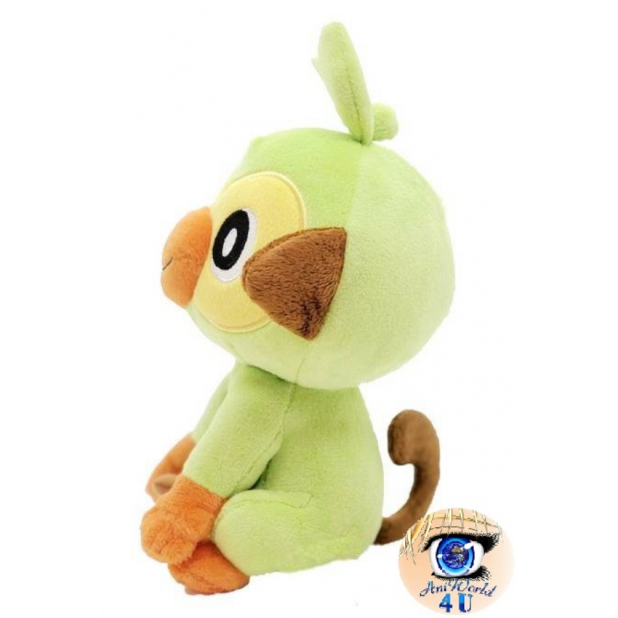 Grookey Plush : Rowlet is tough enough for battle and soft enough for bedtime!