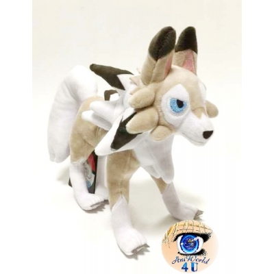 Officiële Pokemon center Knuffel Lycanroc midday form +/- 23cm