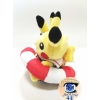 Officiële Pokemon Center knuffel Monthly Pair Pikachu Swimsuit Juli 2016 16cm