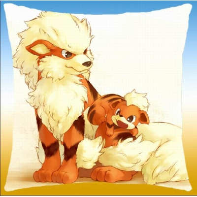 Pokemon kussen growlithe en arcanine 40x40