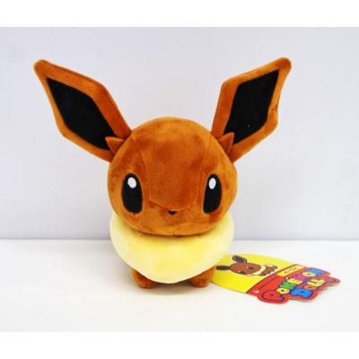 Officiële Pokemon center pokedoll eevee knuffel +/- 18cm