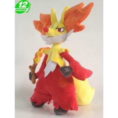 Fan made knuffel Delphox +/- 30cm