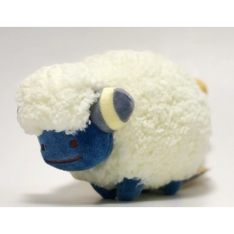 Officiële Pokemon center knuffel ditto transform Mareep +/- 24cm (lang)