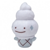 Officiële Pokemon center knuffel ditto transform Vanillite +/- 18cm