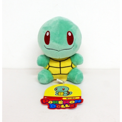 Officiële Pokemon center pokedoll Squirtle knuffel +/- 11cm