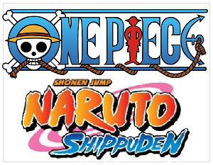One piece, Bleach & Naruto figuren